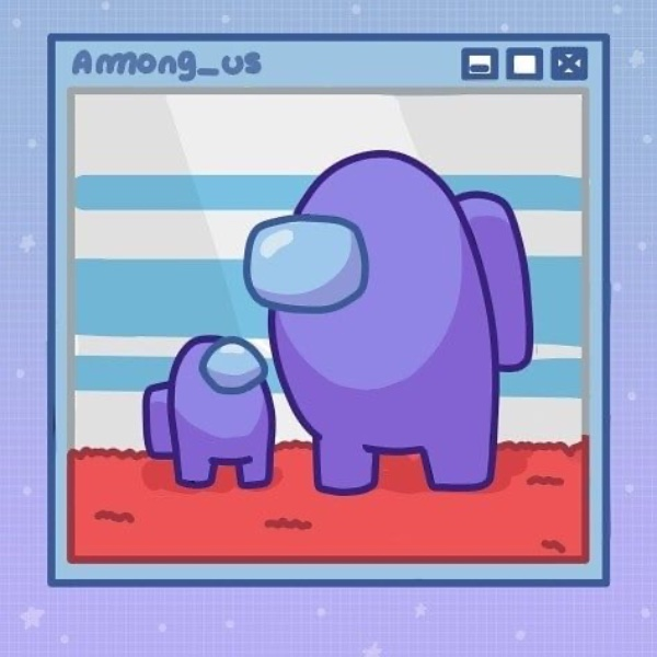 Фиолетовый Амонг Ас