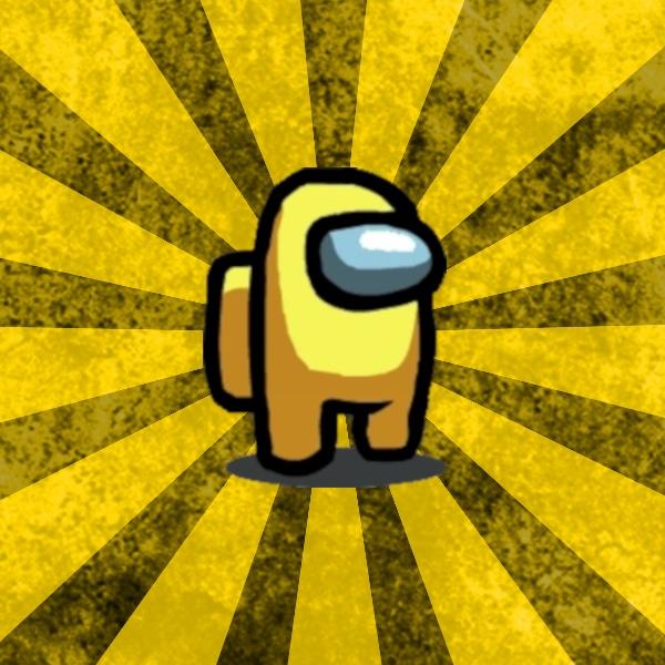 Желтый Амонг Ас